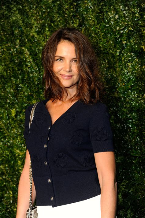 Katie Holmes Is Rocking A Lob Now | Allure