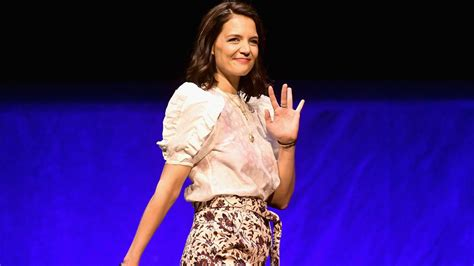 Katie Holmes Wears Ulla Johnson on Instagram and at ...