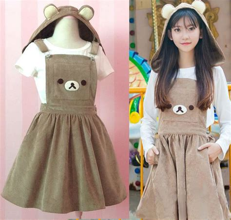 Kawaii Clothing | Vestido Rilakkuma Dress WH158 | Online ...