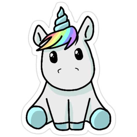 Kawaii Unicorn  Stickers by toric888 | Redbubble