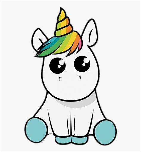 Kawaii Unicornios Para Dibujar , Transparent Cartoon, Free ...