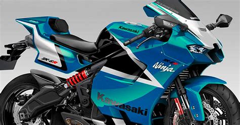 Kawasaki Ninja ZX 6R 2022, un adelanto de sus posibles formas