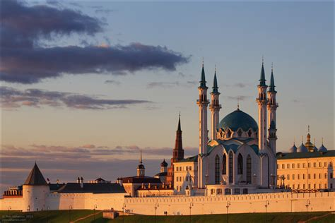 Kazan Kremlin and the fireworks on the City Day · Russia ...