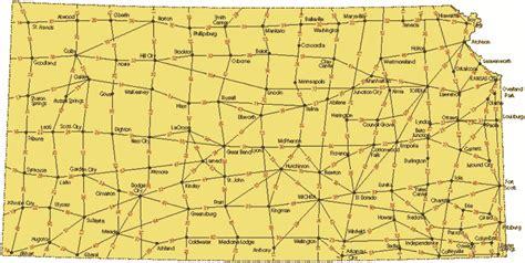 KDOT: Distance Between Cities Map