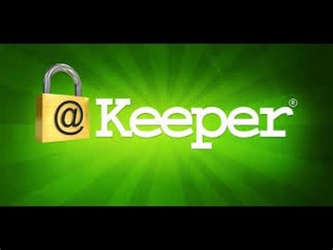 Keeper Password Manager App   YouTube