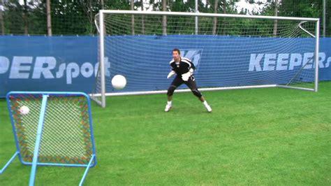 KEEPERsport Rebounder Pro   Goalkeeper Training   YouTube