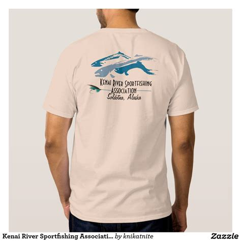Kenai River Sportfishing Association T Shirt | Zazzle.com ...