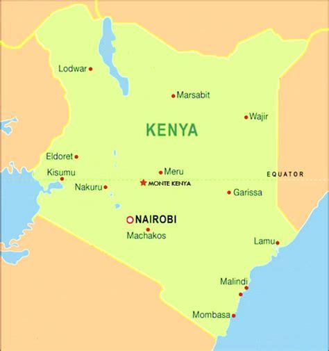 Kenia mapas