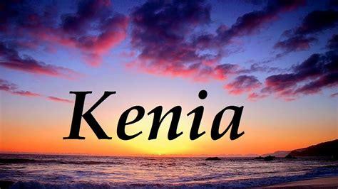 Kenia, significado y origen del nombre   YouTube