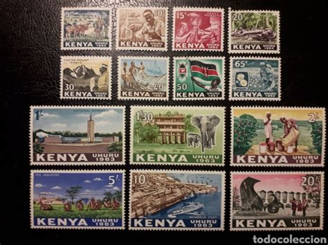kenia. yvert 1/14 serie cta nueva *** excepto 1   Comprar ...