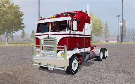 Kenworth K100 red for Farming Simulator 2013