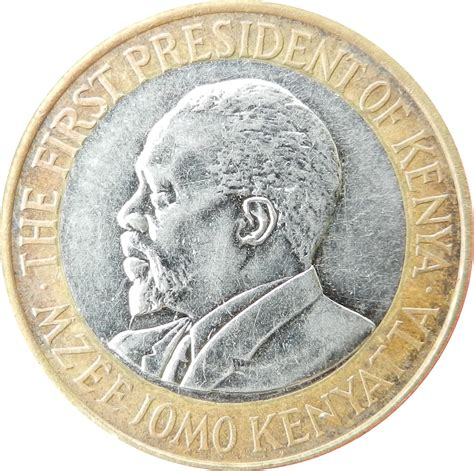 Kenya 10 shillings   Foreign Currency