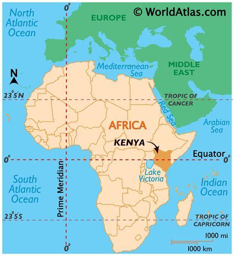 Kenya Map / Geography of Kenya / Map of Kenya   Worldatlas.com