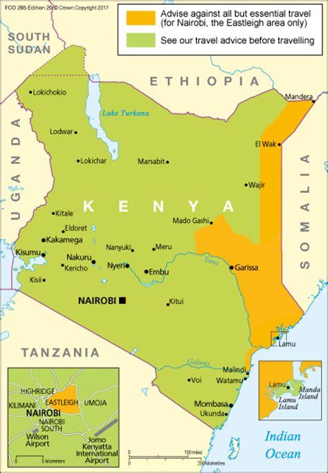 Kenya travel advice   GOV.UK