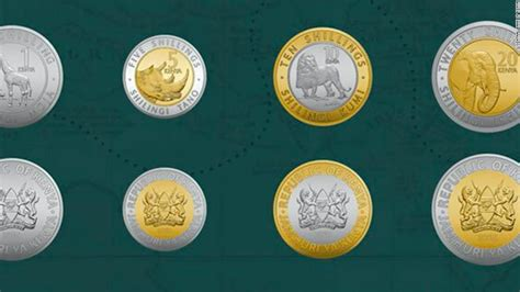 Kenya unveils new currency coins   CNN