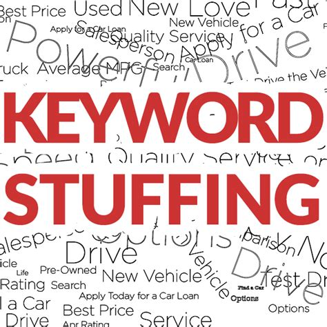 Keyword Stuffing – How to Improve the SEO of your ...