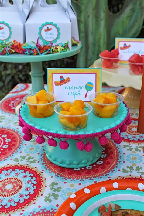 Kid friendly Fiesta + FREE printables!   LAURA S little PARTY