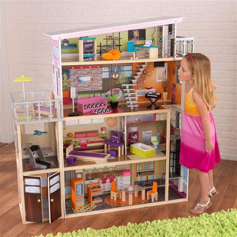 KidKraft Soho Townhouse Dollhouse with Furniture   65277 ...