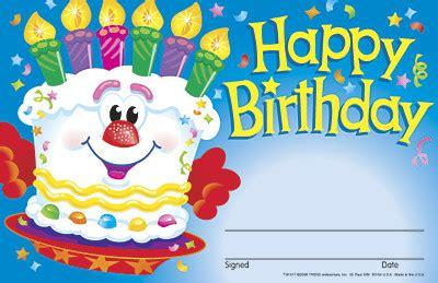 Kids Certificates | Happy Birthday Celebration Cake Design ...