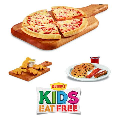 Kids Eat Free and Free Breakfast at Denny s