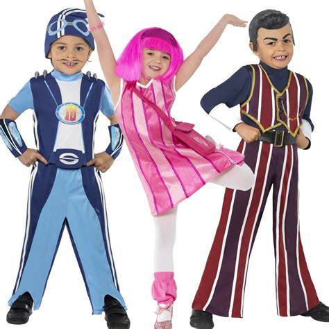 KIDS LAZY TOWN GIRLS STEPHANIE BOYS ROBBIE ROTTEN ...