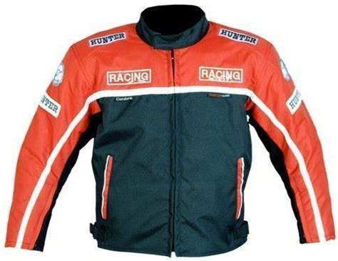 Kids motorcycle motorbike textile motocross jacket ...