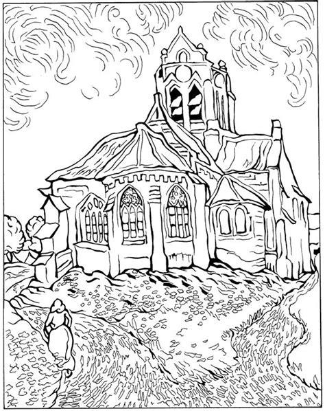 Kids n fun.com | 30 coloring pages of Vincent van Gogh