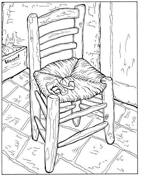 Kids n fun.com | Coloring page Vincent van Gogh Vincent ...