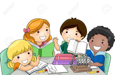 Kids Physics Group Study » Clipart Station