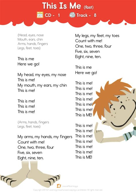 Kids Songs 1: Let s Take a Walk  This Is Me  fast   Lyric ...