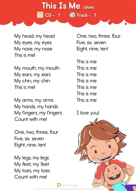 Kids Songs 1: Let s Take a Walk  This Is Me  slow   Lyric ...