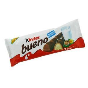 Kinder Bueno Chocolate 2 Bar Paquete X 30 Packs | eBay