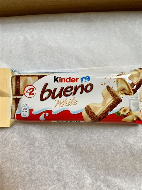 Kinder bueno chocolate blanco   My Dream Breakfast