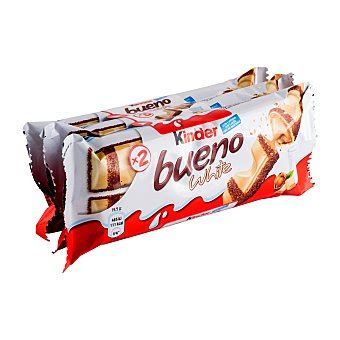 Kinder Bueno white chocolate blanco Pack 3 unidades