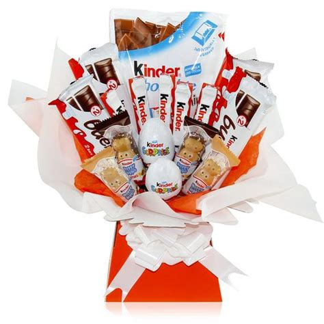 Kinder Chocolate Bouquet cesta