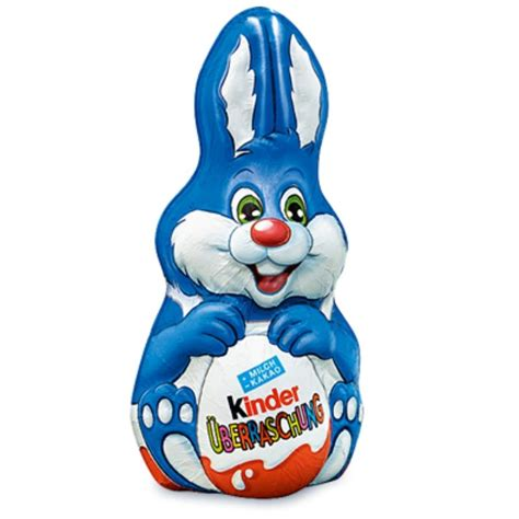 Kinder Easter Bunny with Surprise Egg – Chocolate & More ...