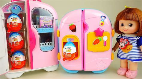 Kinder Joy and Baby Doll refrigerator Surprise eggs ...