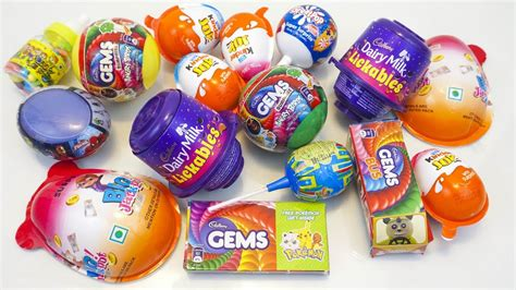 Kinder joy and other interesting toy candies surprise eggs ...