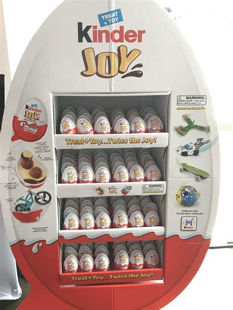 Kinder Joy Eggs From Ferrero Lands in America! Yay! #Kinderjoy