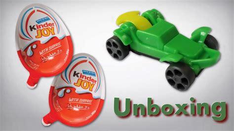 Kinder Joy Surprise Eggs Go Move Action Toy Cars   YouTube