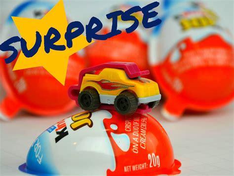 KINDER JOY SURPRISE EGGS | OPENING CAR TOY | UNBOXING ...
