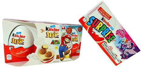 Kinder Joy Surprise Super Mario My Little Pony Toys   YouTube