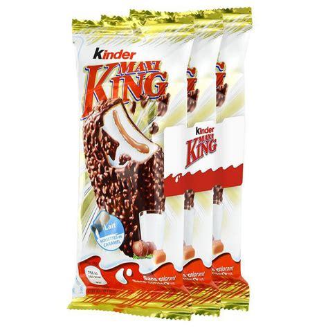 Kinder Maxi King lait et caramel, 3x35g : houra.fr