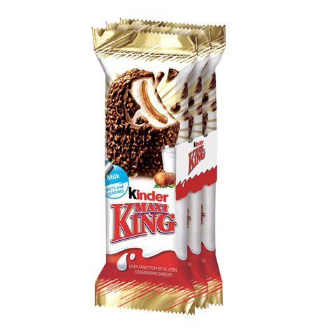 Kinder Maxi King Latte Nocciola & Mou Gr. 35 X 3 Pezzi ...