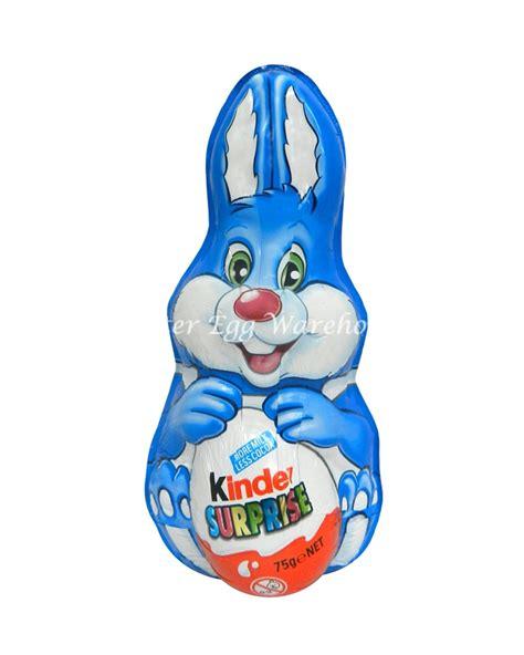 Kinder Surprise Blue Foil Easter Bunny 75g