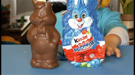 Kinder Surprise Bunny Again   YouTube