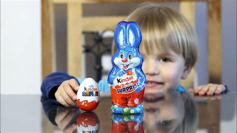 Kinder Surprise Bunny vs Kinder Surprise Egg   YouTube