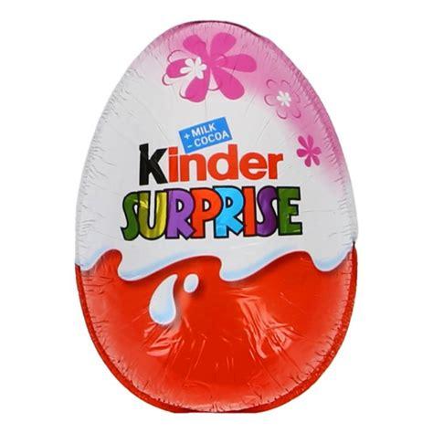 Kinder Surprise Chocolate Egg for Girls 20g 0.7 oz ...