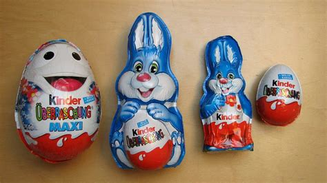 Kinder Surprise Easter Bunny   YouTube