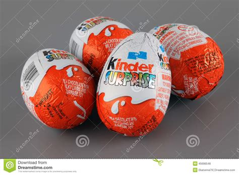 Kinder Surprise editorial stock photo. Image of surprise ...